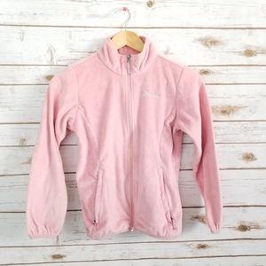Columbia   Fuzzy fleece soft zip up jacket